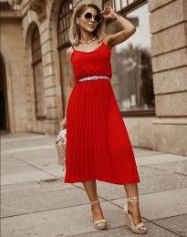 Obleka - koda 1249 - rdeča