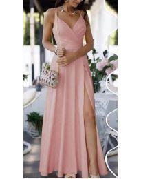 Obleka - koda 8489 - roza