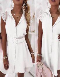 Obleka - koda 7411 - bela