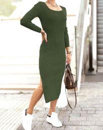 Obleka - koda 2326 - olivno zelena