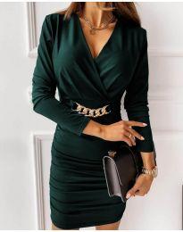 Obleka - koda 8999 - olivna