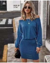 Obleka - koda 4447 - modra