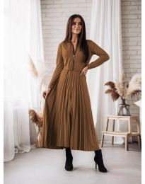 Obleka - koda 1544 - rjava