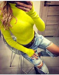 Bluza - koda 5256 - neonsko rumena