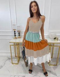 Obleka - koda 3392 - večbarvna
