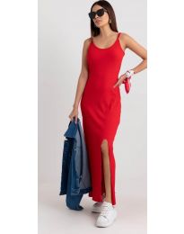 Obleka - koda 3000 - rdeča