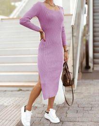 Obleka - koda 2326 - svetlo vijolična
