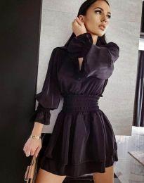 Obleka - koda 6609 - 1 - črna