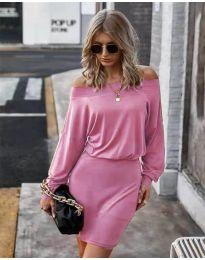 Obleka - koda 4447 - roza