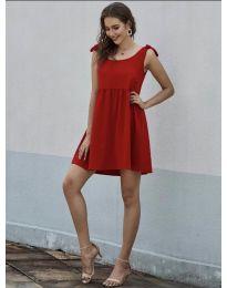 Obleka - koda 2255 - rdeča