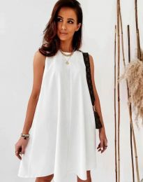 Obleka - koda 9862 - bela