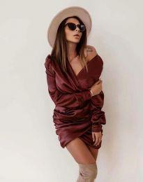 Obleka - koda 0659 - bordo