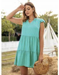 Obleka - koda 696 - turkizna