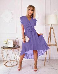 Obleka - koda 8934 - 4 - vijolična