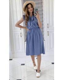 Obleka - koda 701 - svetlo modra