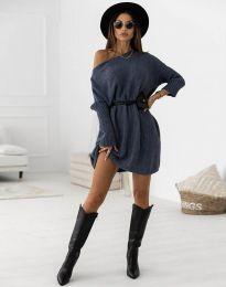 Obleka - koda 6940 - temno modra