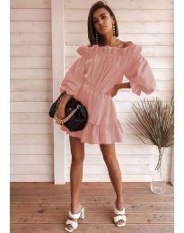 Obleka - koda 3386 - puder
