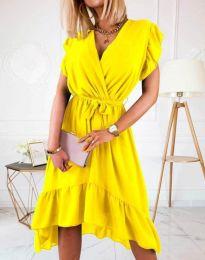 Obleka - koda 8934 - 2 - rumena
