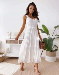 Obleka - koda 4672 - bela