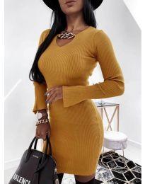 Obleka - koda 5666 - gorčica