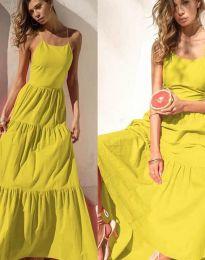 Obleka - koda 2991 - rumena