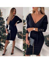 Obleka - koda 1584 - 3 - črna