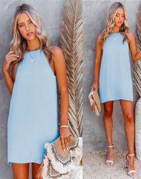 Obleka - koda 2169 - svetlo modra