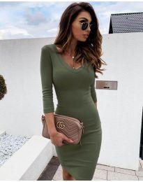 Obleka - koda 4040 - olivna