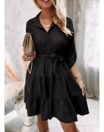 Obleka - koda 6970 - črna