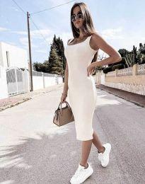Obleka - koda 5964 - bela