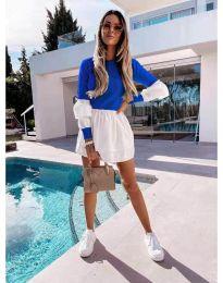 Obleka - koda 5024 - 4 - temno modra