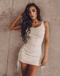 Obleka - koda 12644 - bela