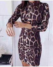 Obleka - koda 326 - 2 - večbarvna