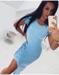 Obleka - koda 059 - svetlo modra