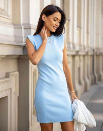 Obleka - koda 10044 - svetlo modra