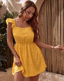 Obleka - koda 6525 - rumena