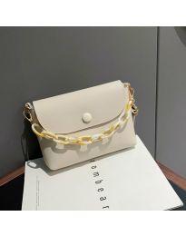 Дамска чанта в бяло - код B7674