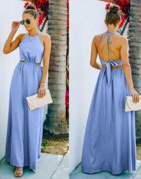 Obleka - koda 6121 - svetlo modra