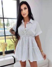 Obleka - koda 8889 - bela