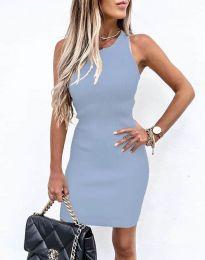 Obleka - koda 6331 - svetlo modra