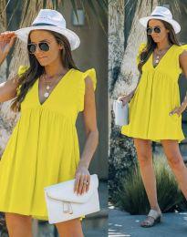 Obleka - koda 7141 - rumena