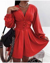 Obleka - koda 4343 - rdeča