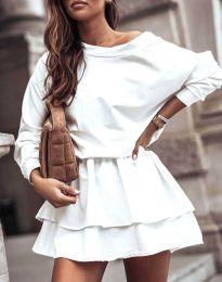 Obleka - koda 0525 - bela