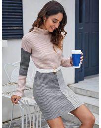 Obleka - koda 9935 - 1 - večbarvna