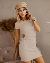Obleka - koda 8556 - bež