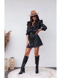 Obleka - koda 3008 - 1 - črna