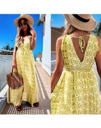 Obleka - koda 675 - rumena