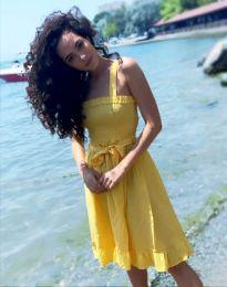 Obleka - koda 8113 - 4 - rumena