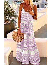 Obleka - koda 621 - vijolična