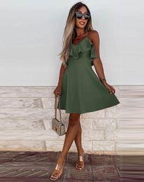 Obleka - koda 2739 - olivna